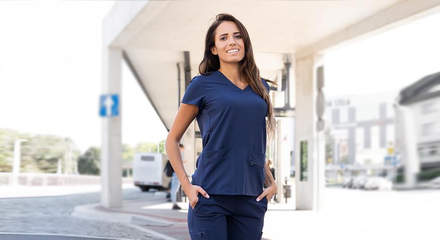Profesonalna odzież medyczna do pracy w branży beauty