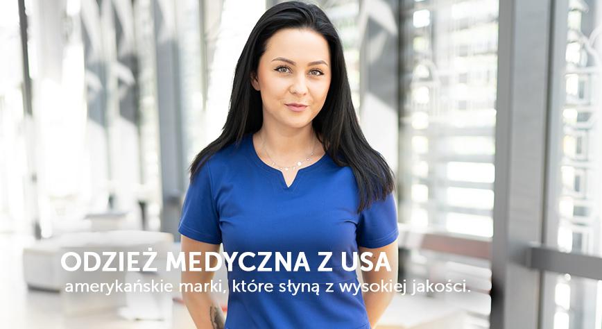 Odzież medyczna z USA w Uniformix