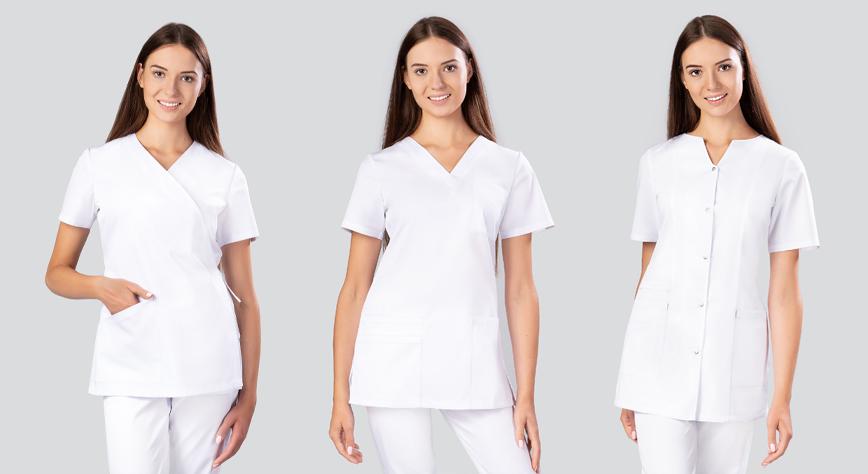 Bluzy i Żakiety medyczne