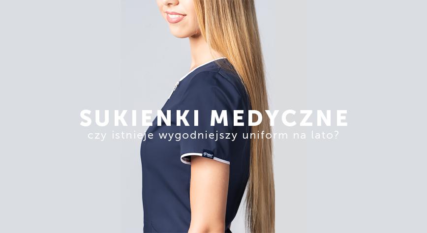 Sukienki medyczne Uniformix - idealne na lato