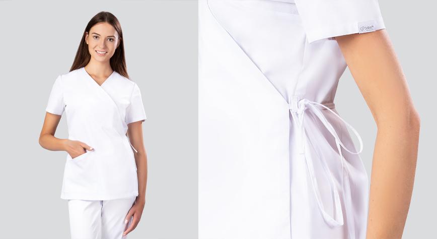 Biała Bluza medyczna
