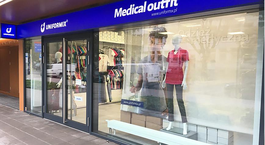 Kolorowa odzież medyczna