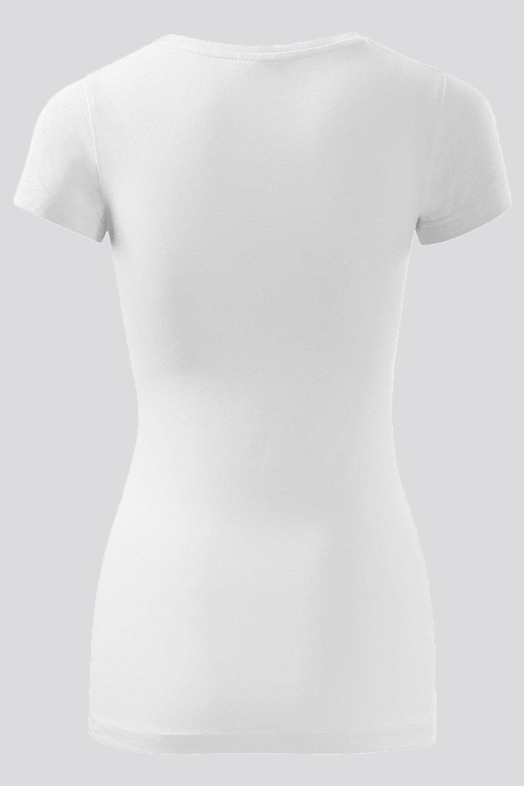888b86cdd7e629 Koszulka damska z długim rękawem, AD139, biała White | Medical ...