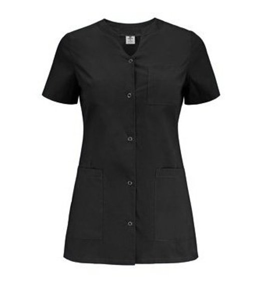 Medical Women's Tunic, Uniformix, four pockets, black, UN2024