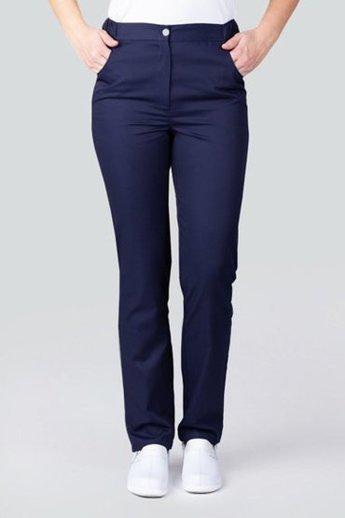 Spodnie medyczne damskie Med Couture, 3702 NAVY