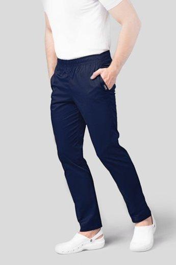 Spodnie medyczne męskie dla Panów lekarzy i pielęgniarzy
