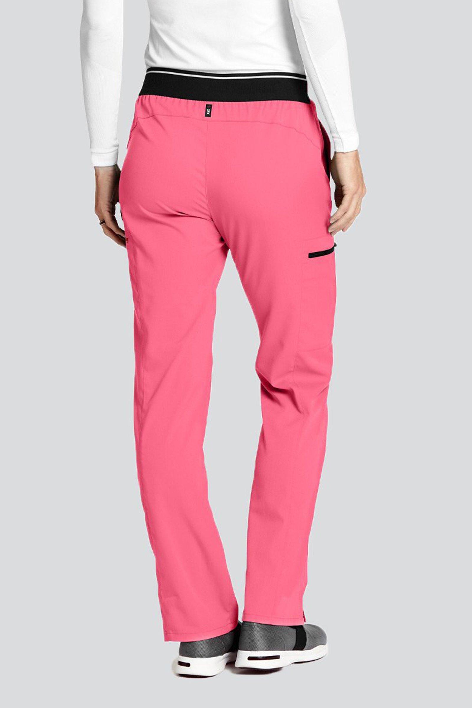 dbd7fdbe Spodnie medyczne damskie Barco Grey's Anatomy Stretch GRSP500 Pink Pop