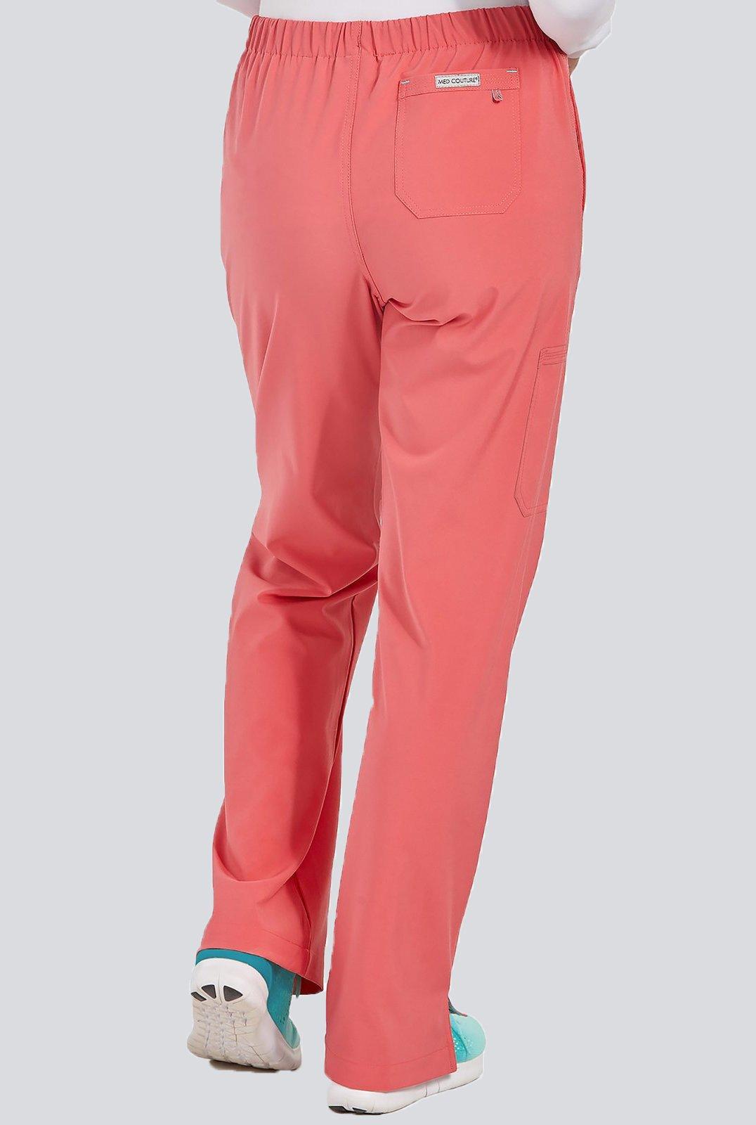 64787c97 Spodnie medyczne damskie Med Couture PERFORMANCE ENERGY STRETCH 8719-CRAL