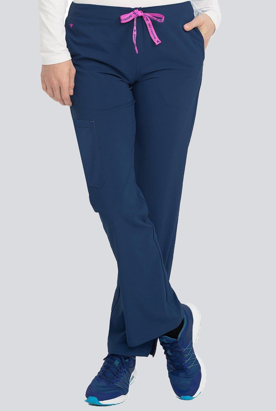 9836cd0c Spodnie medyczne damskie Med Couture PERFORMANCE ENERGY STRETCH 8719-NAVY