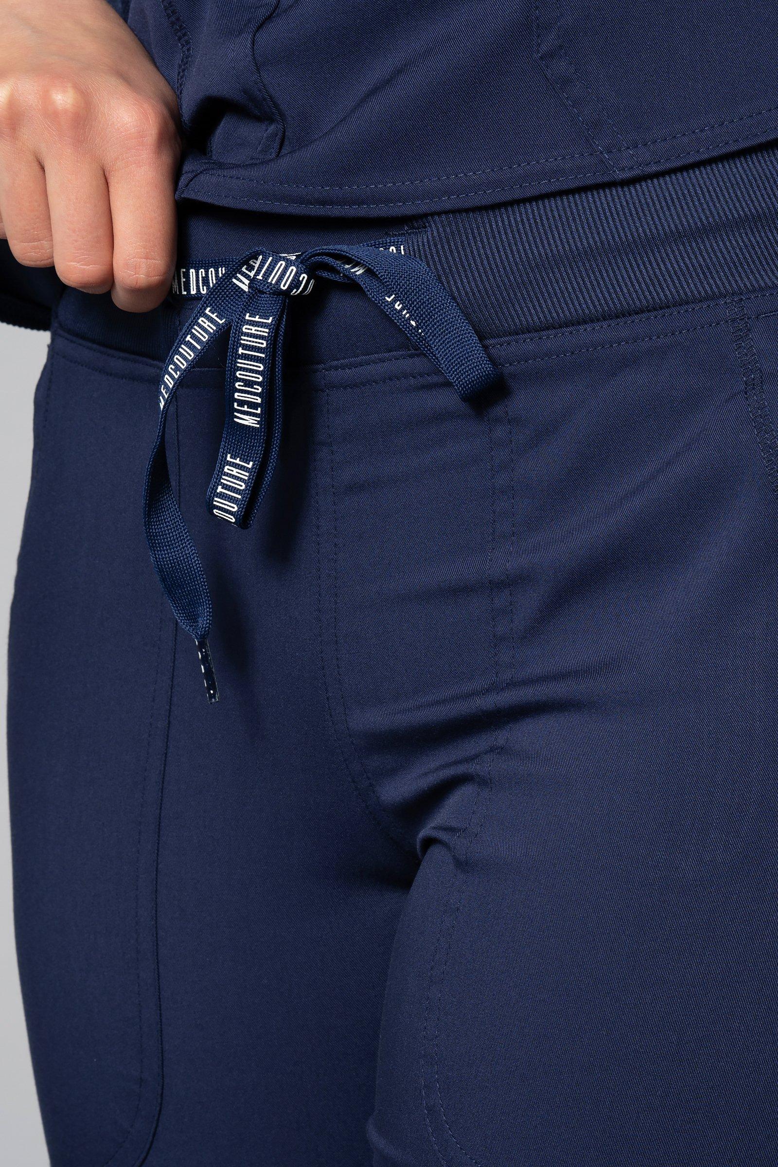 902a5444 Spodnie medyczne damskie Med Couture Performance Touch, 7710-NAVY