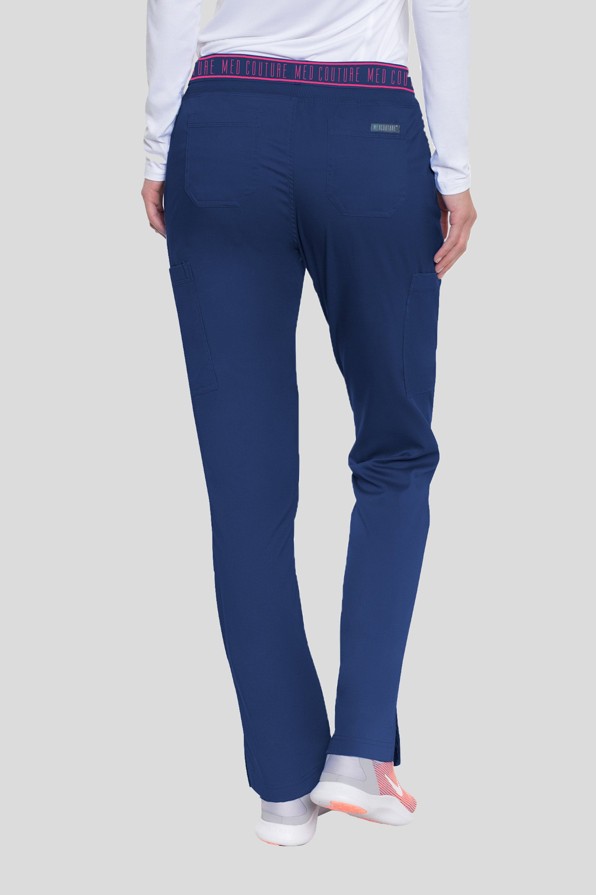 127c6aa4 Spodnie medyczne damskie Med Couture Performance Touch, 7739-NAVY